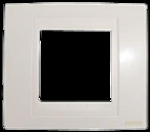 Рамка на 1 пост. Цвет Белый. Schneider electric Unica Хамелеон. MGU6.002.18