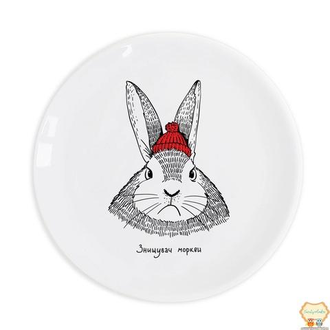 Тарілка Кролик