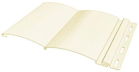 Сайдинг Файнбир Block House Classic Color слоновая кость 3660х232 мм