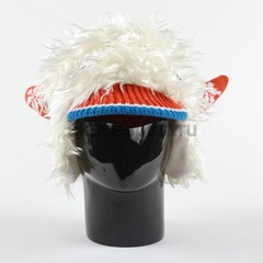 Шапка с волосами Eisbar Power Horn 126