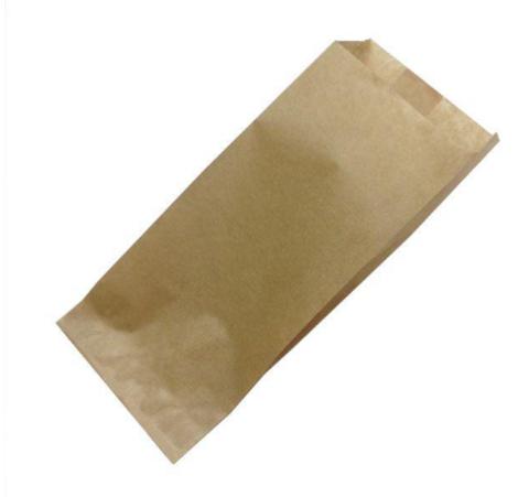 Пакет для половинки шаурмы 100х70х230 мм бурый