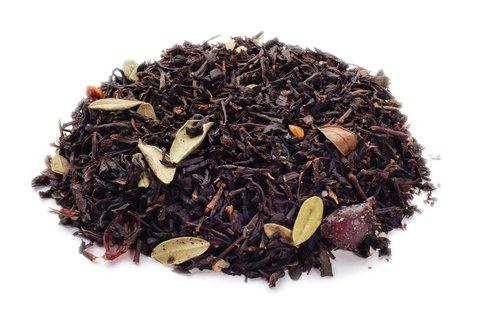 Брусничный Чай черный ароматизированный