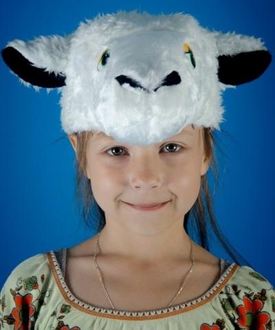 Карнавальная шапочка Овечка
