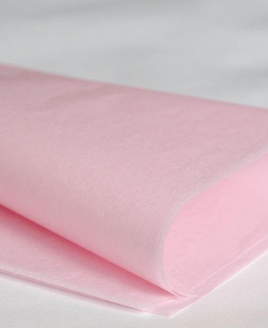 Бумага тишью, нежно-розовый