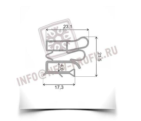Уплотнитель 101*56 см для холодильника Позис Electrofrost 148 (холодильная камера) Профиль 012