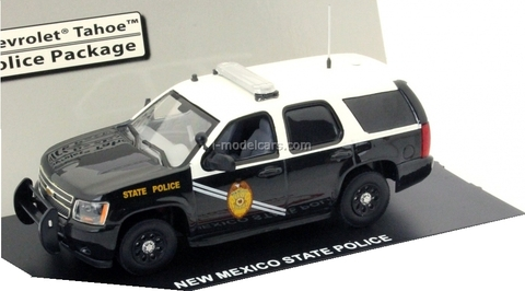 Chevrolet Tahoe New Mexico State Police Polizei (US) First Response 1:43