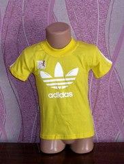 Стильная детская футболка АДИДАС
