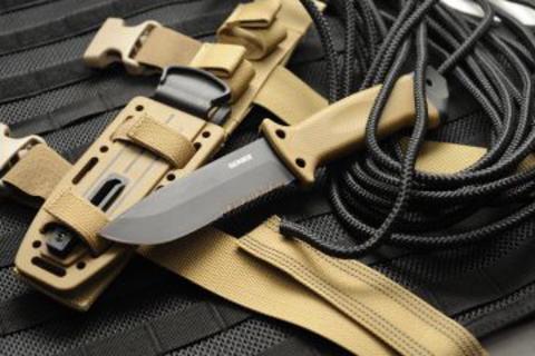 Тактический нож LMF II Infantry Coyote Brown