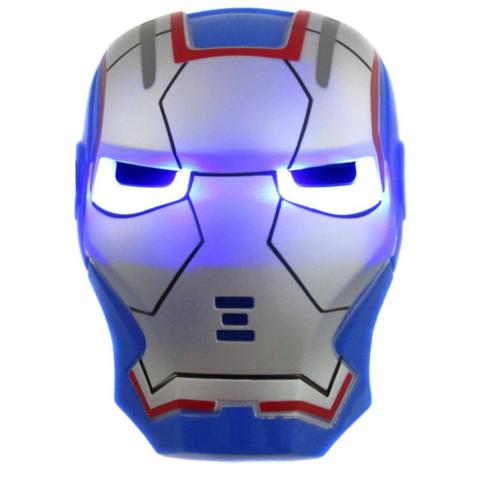 Маска Железного человека Железный патриот с подсветкой
