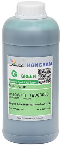 Чернила водные DCTec 7900D green dye 1 л. Серия 109500