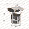 Зонт-Д d115мм (430/0,5 мм) Ferrum