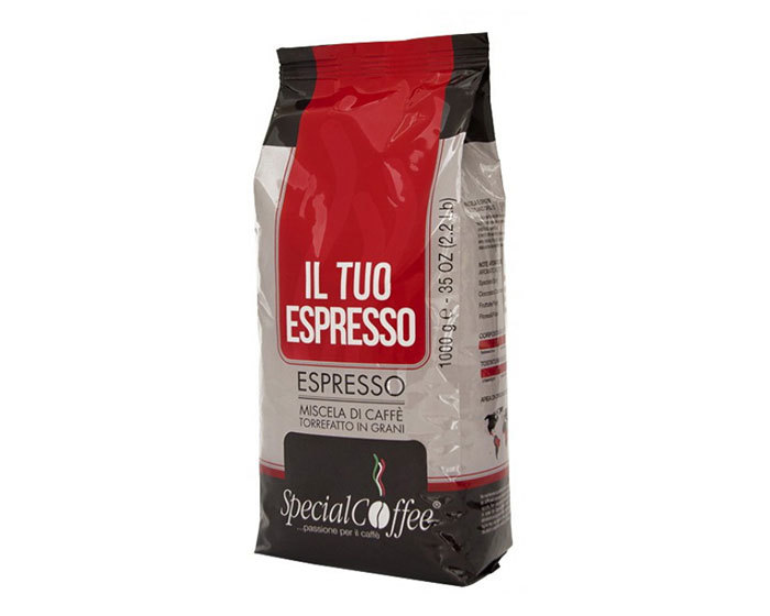 Кофе в зернах Special Coffee IL Tuo Espresso, 1 кг (Спешал кофе)