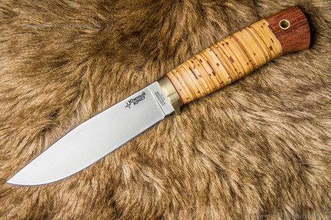 Туристический нож Бер D2 Береста