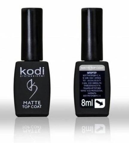 Kodi Matte Top Gel Матовое верхнее покрытие для гель лака 8 мл