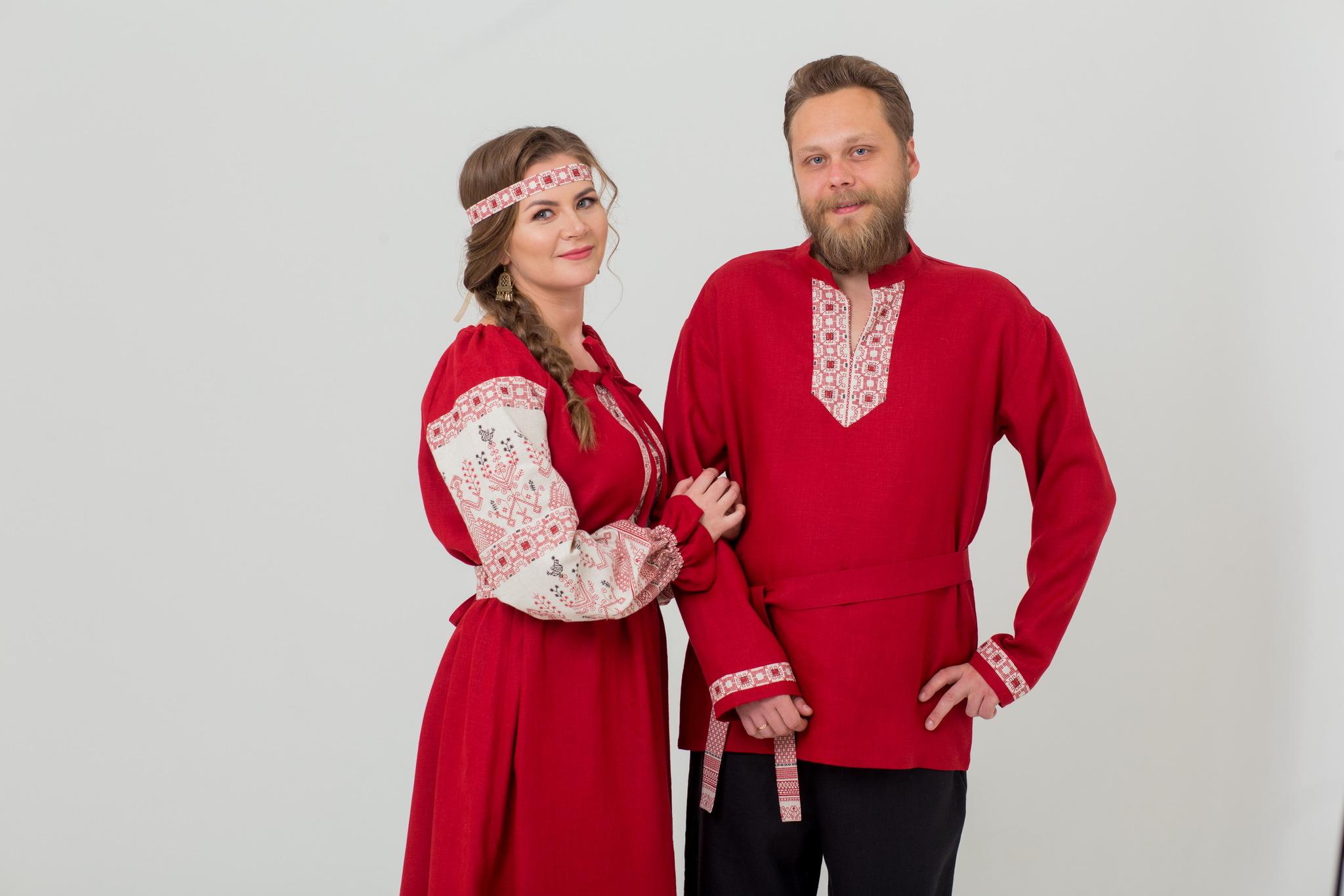 Красивое русское платье от Иванки купить