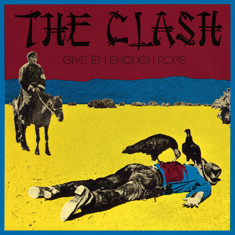 The Clash / Give 'Em Enough Rope (LP)