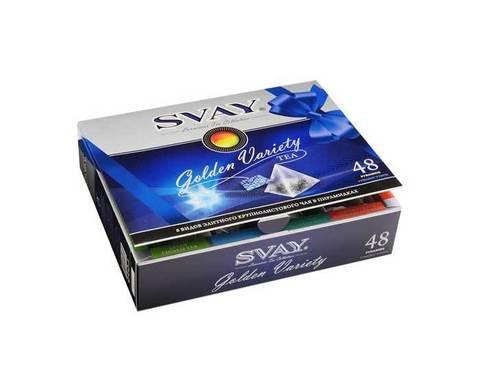 Подарочный набор 8 видов чая Svay Golden Variety