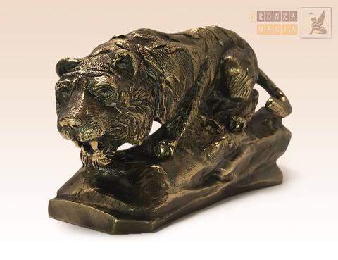 статуэтка Тигр на скале