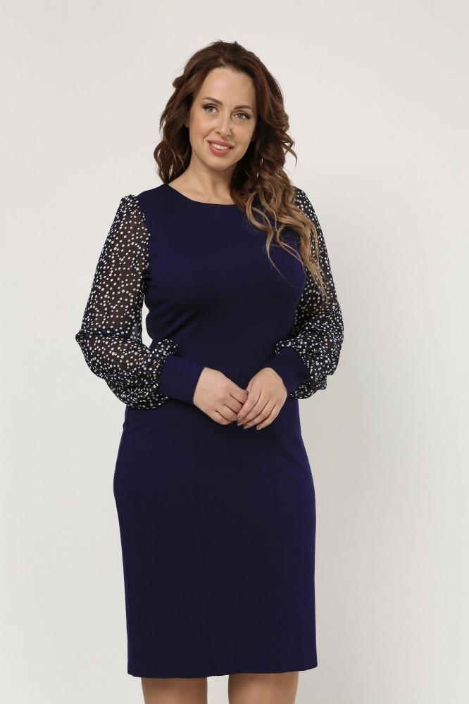 Платья Платье Альбина синий 2-026-1_siniyi_goroh_1.1200x1000.jpg