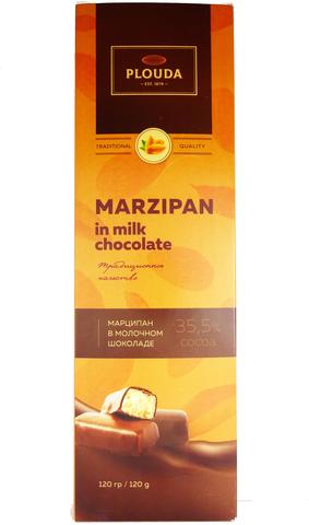 Марципан в молочном шоколаде