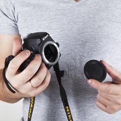 Крышка для байонета Nikon F