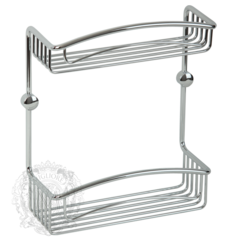 Решетка двойная с галереей 20см. Migliore Complementi H30xL20xP15 cm ML.COM-50.600