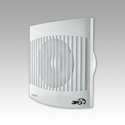 Вентилятор накладной Эра COMFORT 4-01 D100 с сетевым кабелем и выключателем