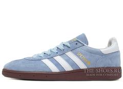 Кроссовки Мужские Adidas Spezial Light Grey Brown