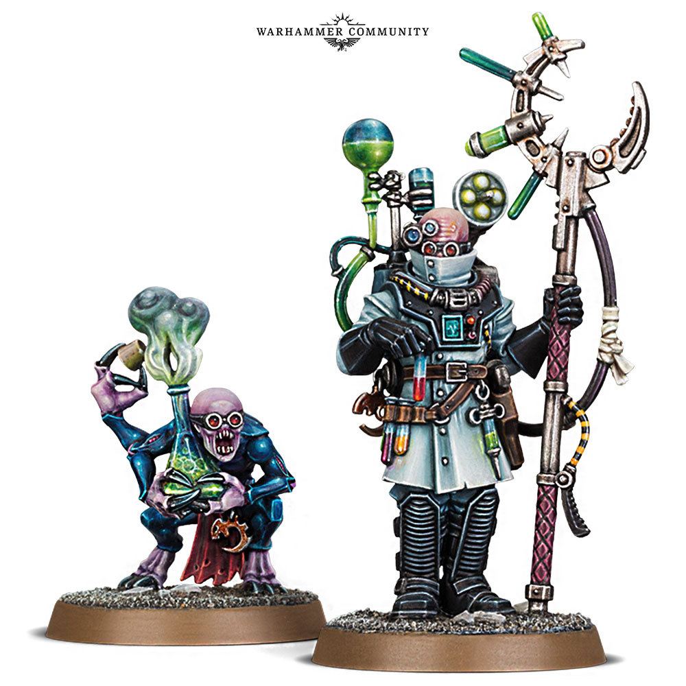 Genestealer Cults Biophagus. Биофагус Генокульта