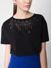 GKT006223 блузка женская, черная