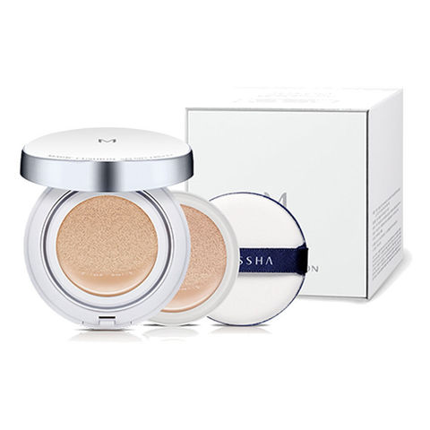 MISSHA M Magic Cushion Moisture SPF50+/PA+++ Special Set 21+21(R)+Puff