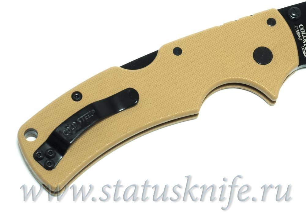 Нож Cold Steel 58ALVB American Lawman CTS-XHP Coyote Tan