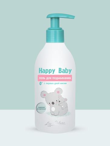 Liv delano Happy BabyГель для подмывания спервых дней жизни 0+ 300г