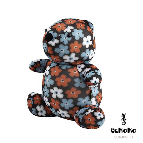 Подушка-игрушка антистресс «Цветочный Мишка» 3