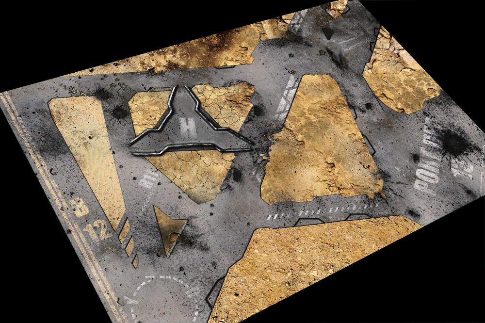 Игровое покрытие Sector B-12 120x180 см