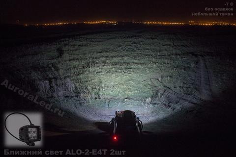 Светодиодная LED фара врезная ближнего света 40 Вт Аврора фото-1