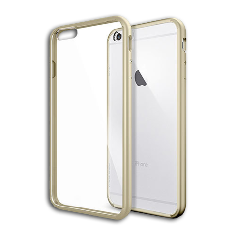 Spigen SGP Case Ultra Hybrid for iPhone 6S Plus / 6 Plus Champagne Gold SGP10895