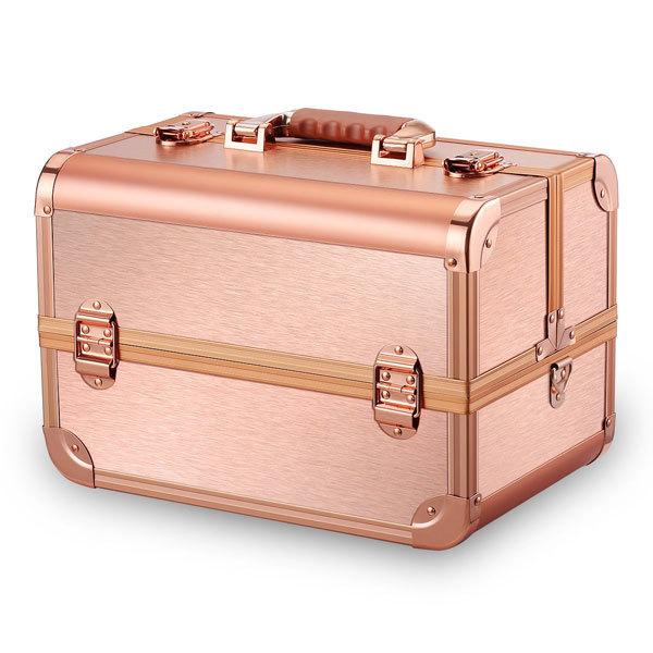 Бьюти кейсы и чемоданы Бьюти кейс для косметики CWB7350 Gold Edition Бьюти-кейс-для-косметики-золотой-MC028-2.jpg