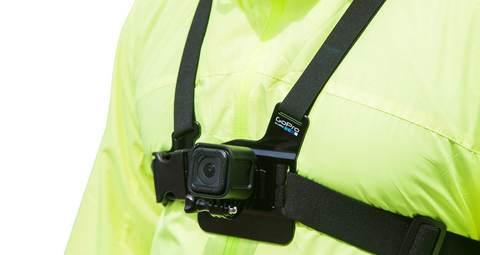 "Крепление на грудь GoPro Chest Mount Harness ""Chesty"" на человеке"