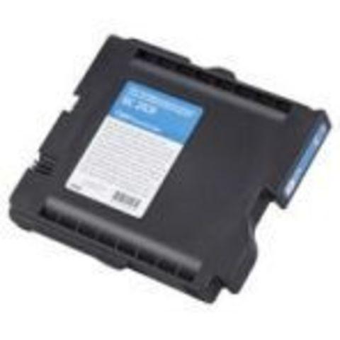 LE Картридж Ricoh для гелевого принтера GC31CH голубой для Aficio GXe5550N/7700N. Ресурс 4890 стр. (405702)