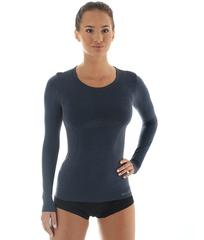 Женская терморубашка Brubeck Comfort Wool (LS12150) джинс
