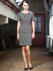 P40593-7z платье серое