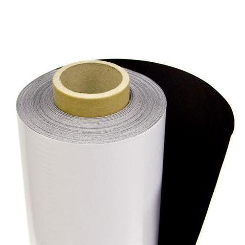 Магнитный винил с покрытием ПВХ. Рулон 30х0,61м. Толщина 0,4 мм (90013093)