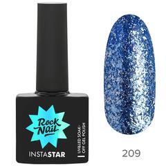 Гель-лак RockNail Insta Star 209 Miley, 10мл.
