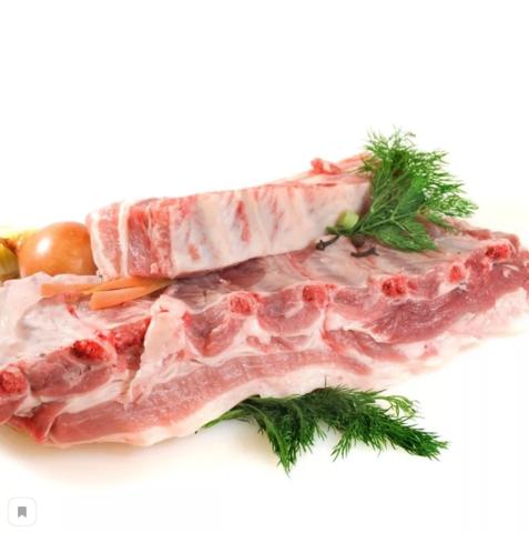 Грудинка свиная без шкуры