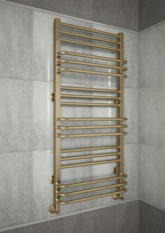 Sorento Bronze - бронзовый полотенцесушитель с чередующимися перекладинами. Бронза.