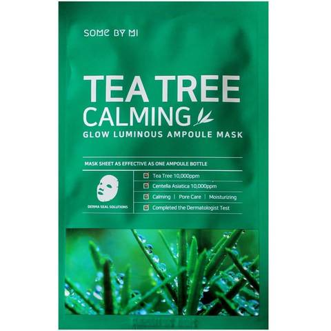 Some By Mi Маска тканевая ампульная Tea Tree  Calming Glow Luminous Ampoule Mask 25 гр