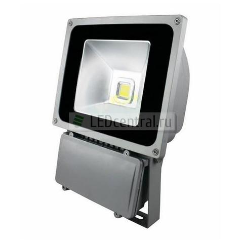 Прожектор уличный LED, Cold White, 80W, AC85-220V/50-60Hz, 6400 Lm, IP65. LUX