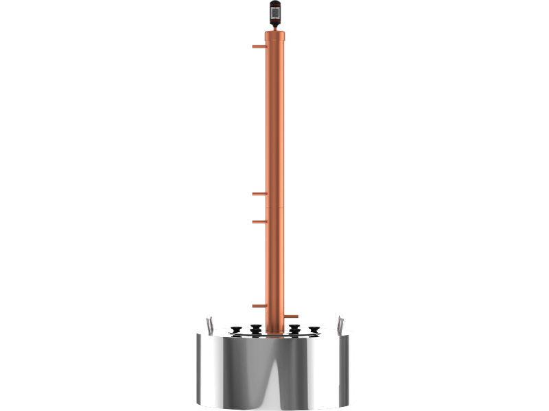 Самогонные апараты Самогонный аппарат CuprumSteel Rocket28 30 л 10525_G_1507031996823.JPG