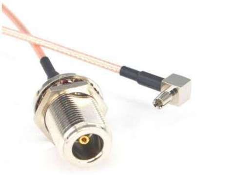 Антенный адаптер (пигтейл) N-tipe female/TS9